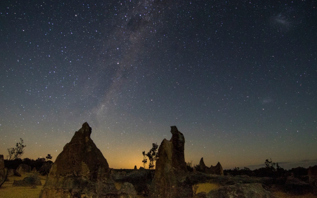 Cervantes Astrophotography Hot Spot – The Pinnacles