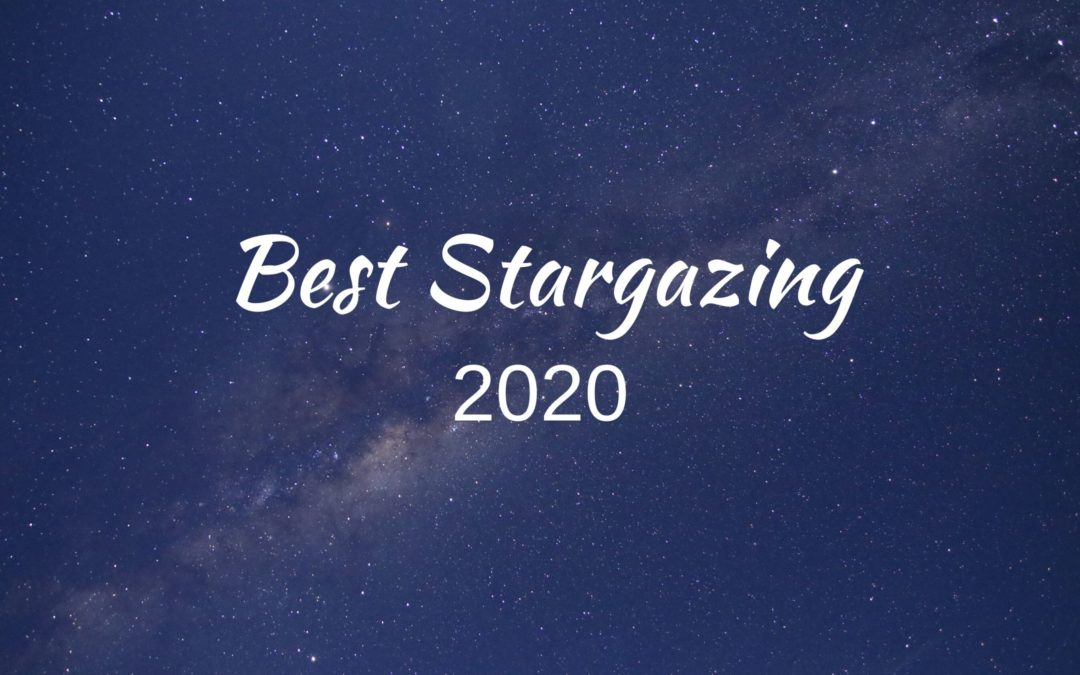 An image of the Milky Way - best stargazing in 2020