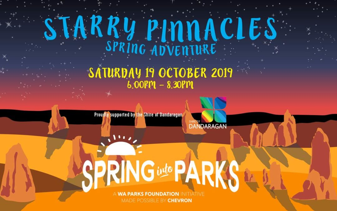 Banner image for the Starry Night Pinnacles Spring Adventure event on 19th October 2019
