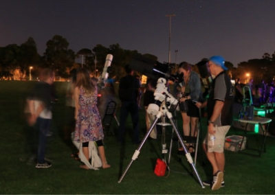 Astrofest Telescopes on the Oval4