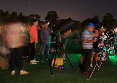 Astrofest Telescopes on the Oval5