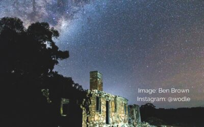 Northam Astrophotography Hot Spot – Glenfield Homestead Ruins