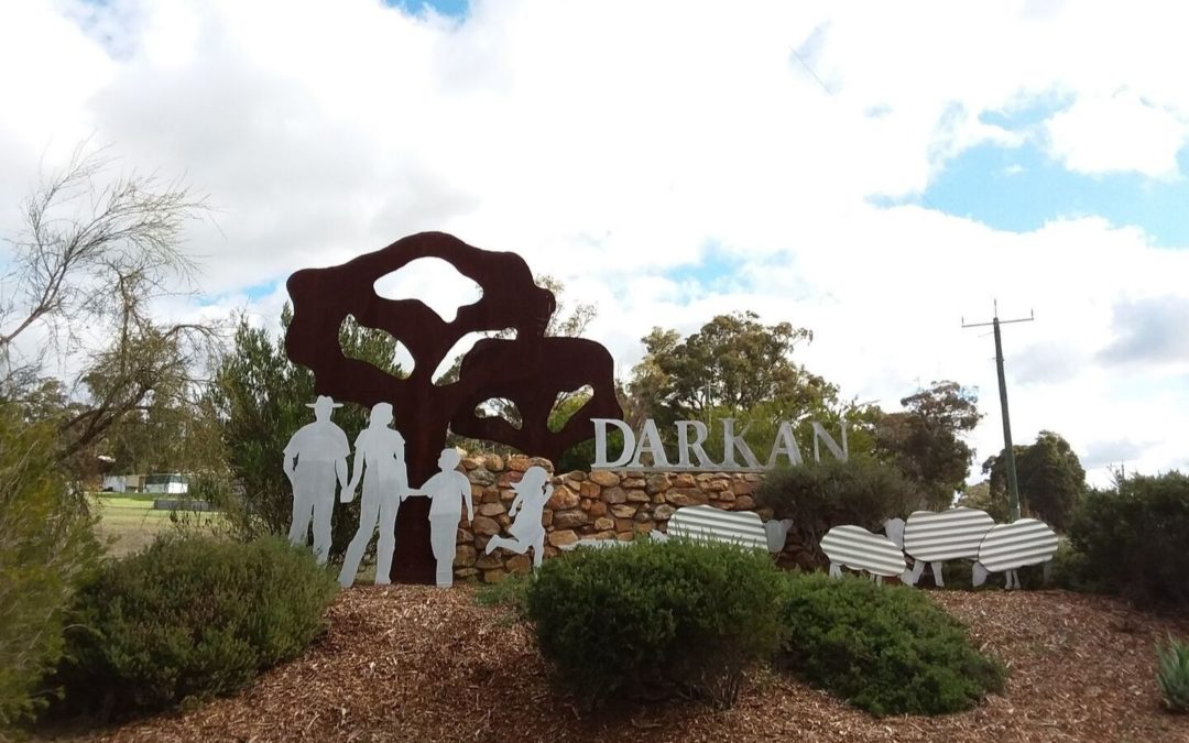 Darkan entry statement in the Shire of West Arthur