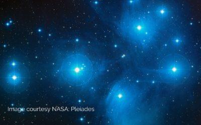 Venus & Pleiades   3rd & 4th April