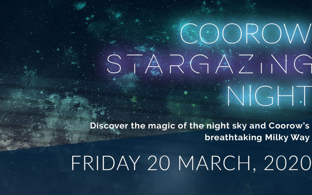 Postponed due to weather – Coorow Stargazing Night | 20th March