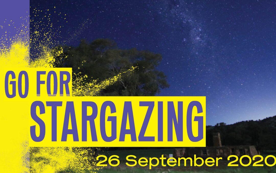 Go for Stargazing graphic