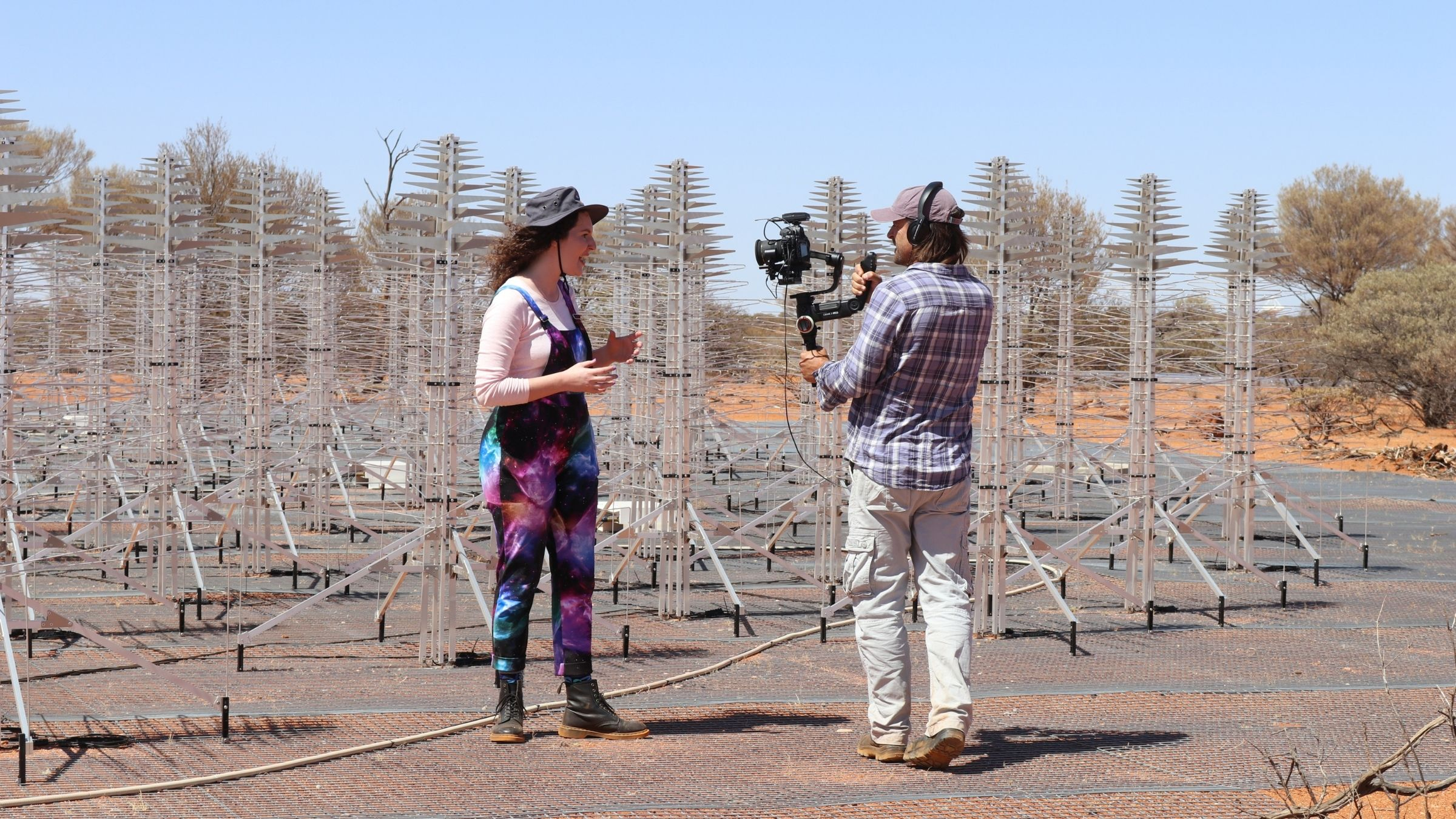 Filming Begins on WA's First Space Documentary